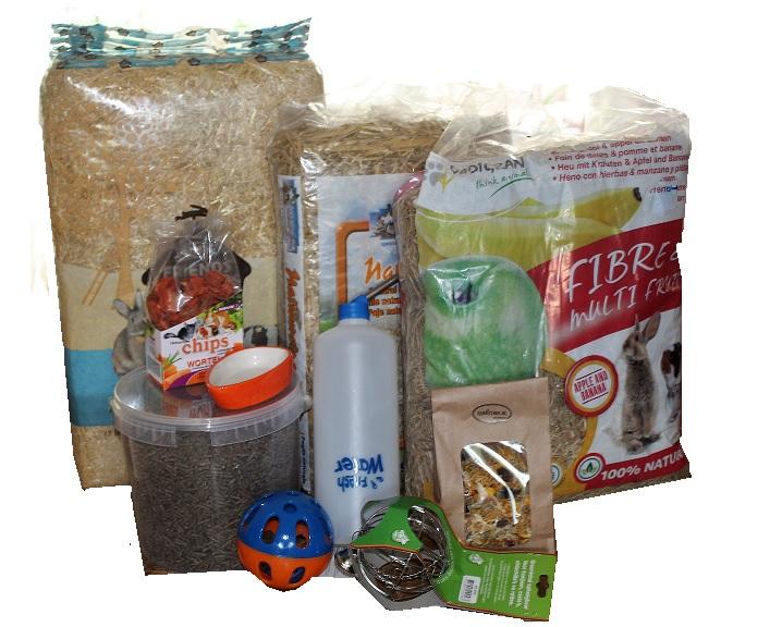startpakket voor konijnenTeddypallace
